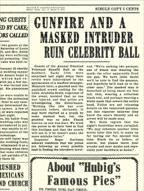 Crescent City - Asylum 1 - Newspaper Article